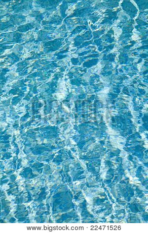 Water In The Swimming Pool