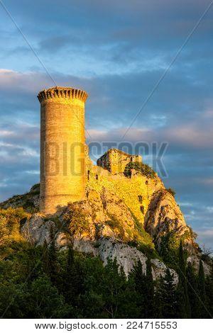 Chateau de l Hers near Chateauneuf-du-Pape, Provence, France