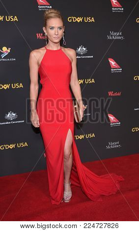 LOS ANGELES - JAN 27:  Nicky Whelan arrives for the G'Day USA Gala 2018 on January 27, 2018 in Los Angeles, CA