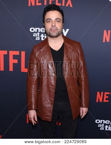LOS ANGELES - JAN 24:  James Martinez arrives for Netflix's 'One Day At A Time' Season 2 Premiere on January 24, 2018 in Hollywood, CA