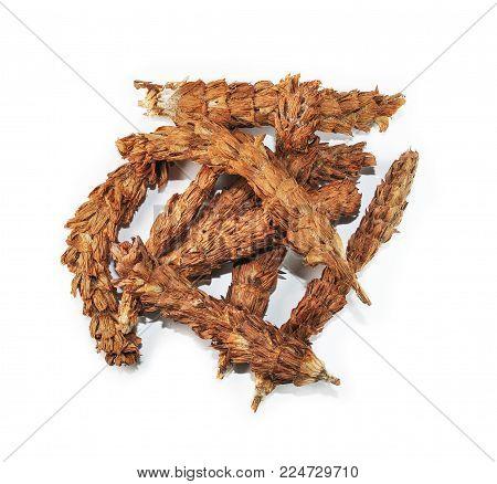 Spica Prunellae, chinese herbal medicine isolated. Xia Ku Cao