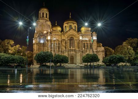 The Assumption of the Mother of God Cathedral in Varna, Bulgaria