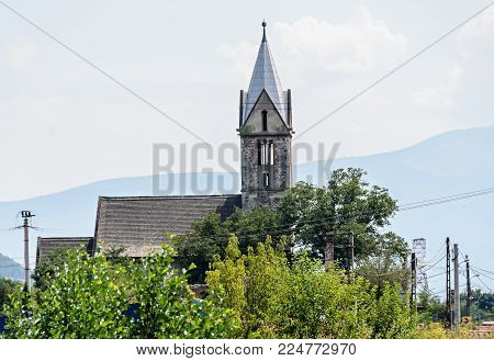 Reformed Church In Santamaria-orlea, Hunedoara From Romania Europe