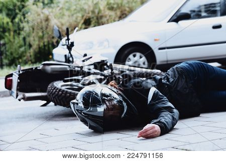 Victim Of Traffic Accident