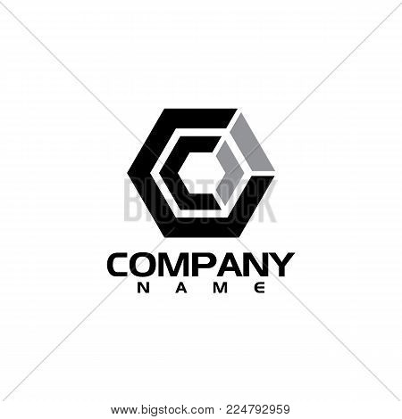 Best letter C logo concept, Letter C strong and creative logo concept, creative letter C concept design