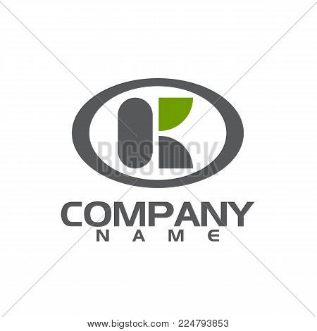 Business corporate letter K logo design vector. Colorful letter K logo vector template. Letter K logo for technology