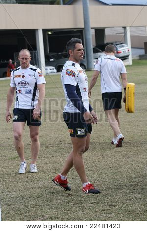 DARREN LOCKYER and COREY PARKER