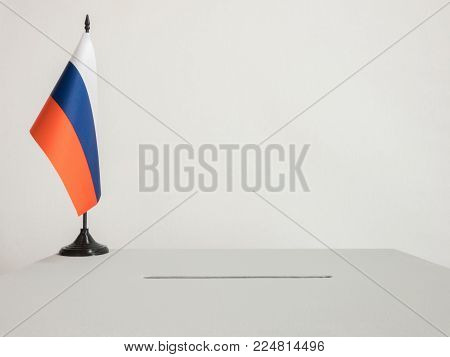 The Russian Tricolor Flag