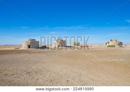 Abandoned Pigeon Houses In Ampudia Village