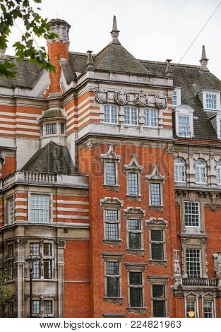 Millbank House Grade II listed building exterior, City of Westminster, Central Area of Greater London, UK