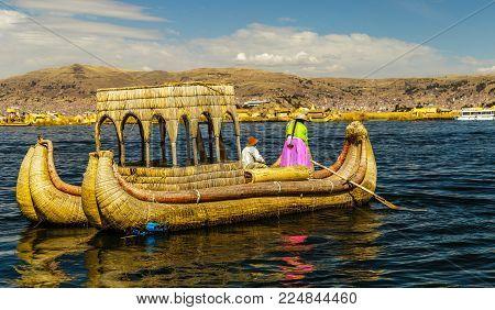 Lake Titicaca, Uros Island
