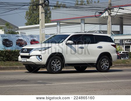 Private Toyota Fortuner Suv Car.