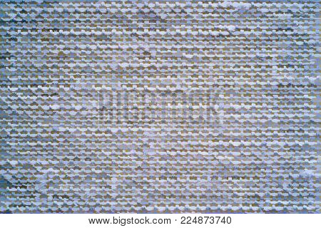Illustration Of Abstract Speckled Texture Of Fabric Or Textile Material Of Blue Color For A Backgrou