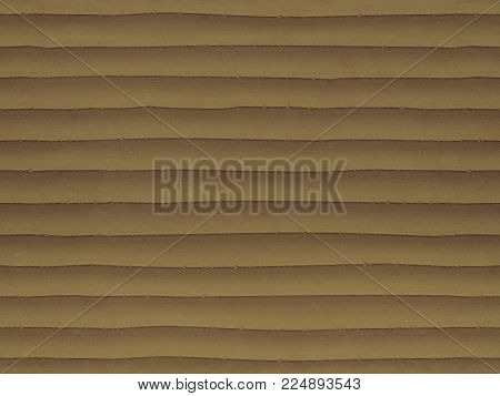 Wet sand color seamless stone texture background pattern. Stone seamless texture surface with horizontal lines layers. Stone linear seamless texture. Brown beige seamless background layered texture