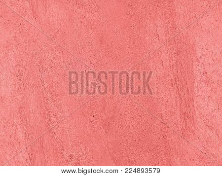 Natural rose pink seamless stone texture venetian plaster background. Dark rose venetian plaster stone texture grain pink pattern. Pink seamless grunge rose stone background texture surface. Pink stone texture structure pattern