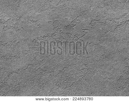 Seamless stone texture. Gray venetian plaster background seamless stone texture. Traditional venetian plaster rock stone texture grain pattern drawing. Gray background grunge texture. Stone seamless. Seamless stucco texture surface background
