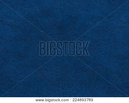 Seamless stone texture. Navy blue venetian plaster background seamless stone texture. Traditional venetian plaster stone texture grain pattern drawing. Navy background grunge texture. Stone seamless texture surface