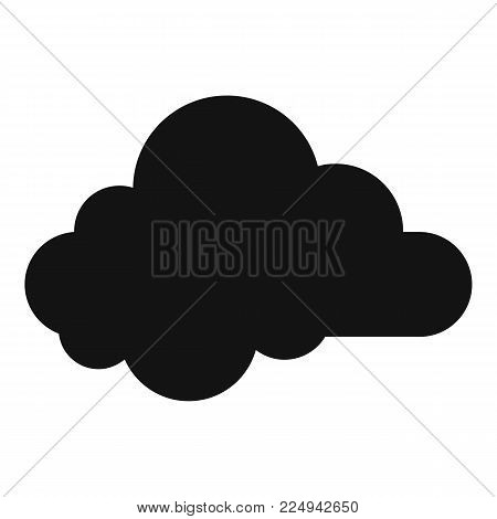 Small cloud icon. Simple illustration of small cloud vector icon for web