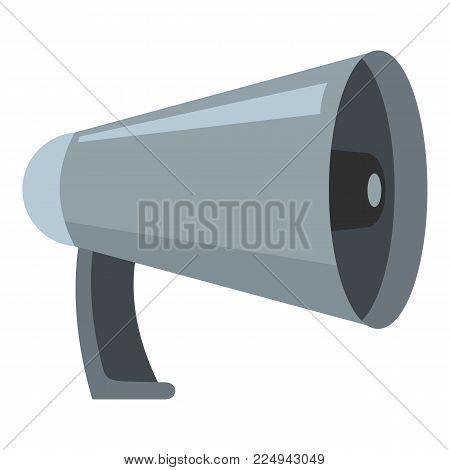 Noise megaphone icon. Cartoon illustration of noise megaphone vector icon for web