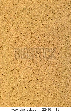 Cork Board Texture Background, Bright Vertical Textured Corkboard Macro Closeup, Large Detailed Decorative Beige Brown Natural Pattern, Blank Empty Copy Space