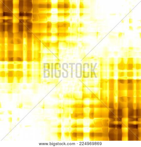 abstract golden background of glossy squares