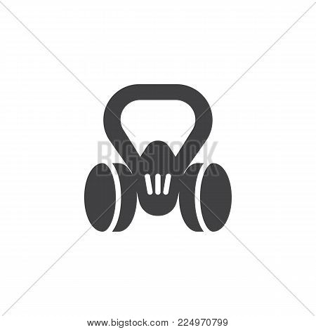Gas mask icon vector, filled flat sign, solid pictogram isolated on white. Respirator symbol, logo illustration.