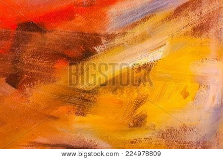 Abstract Acrylic Painted Background. Abstract Art Backgrounds. Hand-painted Background. Self Made