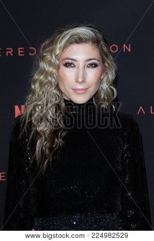 LOS ANGELES - FEB 1:  Dichen Lachman at the