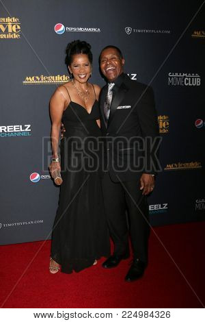 LOS ANGELES - FEB 2:  Penny Johnson Jerald, Gralin Jerald at the 26th MovieGuide Awards at the Universal Hilton Hotel on February 2, 2018 in Universal City, CA