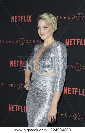 LOS ANGELES - FEB 1:  Kristin Lehman at the