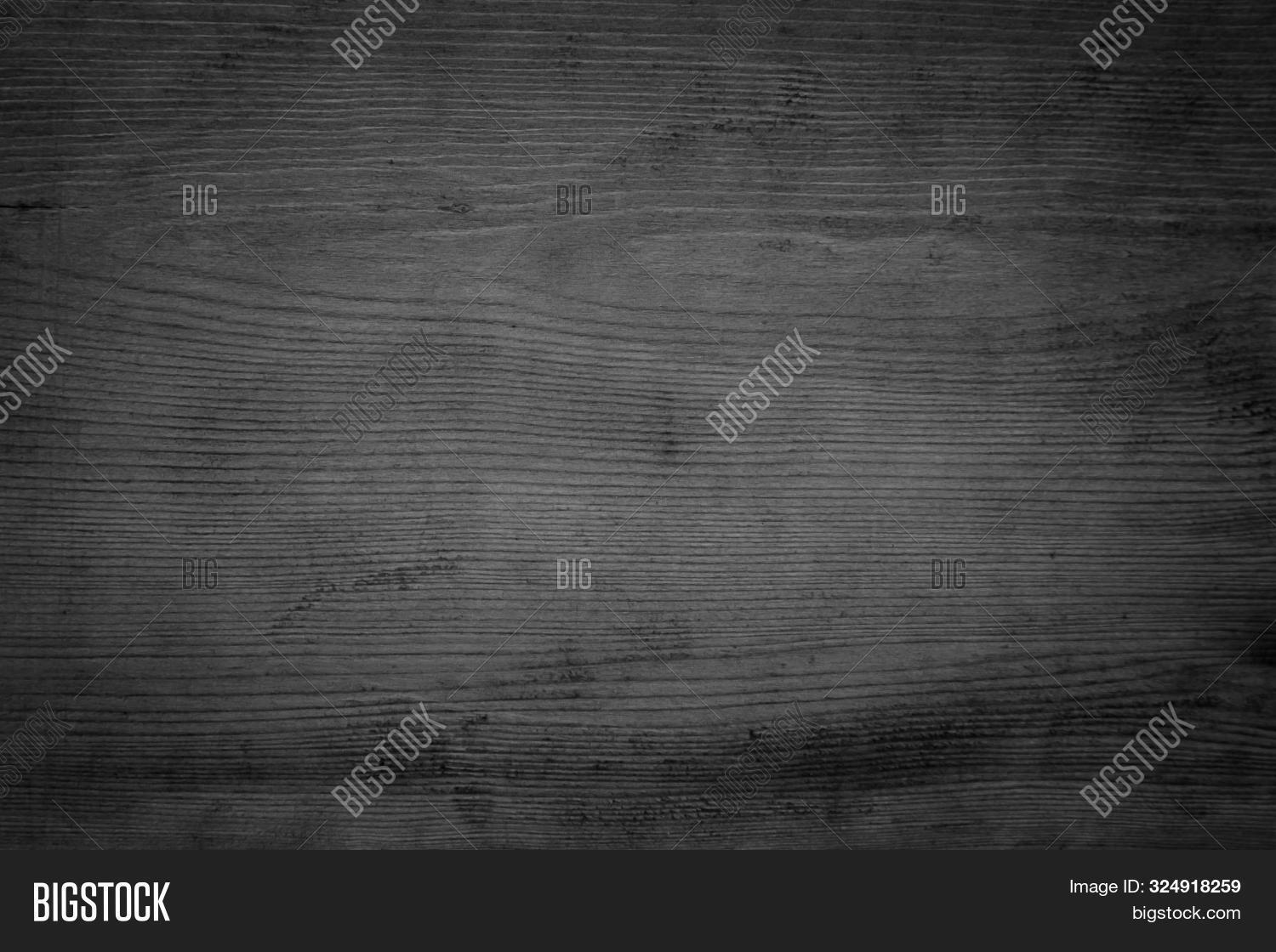 Black Wood Texture Background. Abstract Dark Wood Texture On Black Wall. Aged Wood Plank Texture Pat