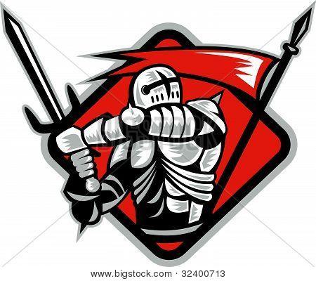 knight templar crusader fighting