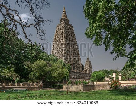 Bodhgaya, The Place Where Buddha Attained Enlightenment, The Main Center Of Buddhist Pilgrimage
