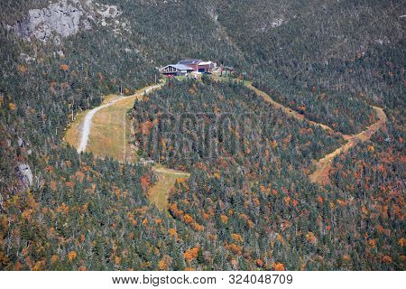 Stowe,Vermont - OCT 07:, Stowe is top four season tourist destination in Vermont state  on Oct 07, 2016.