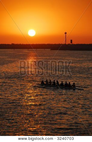 Sunset Rowing Crew