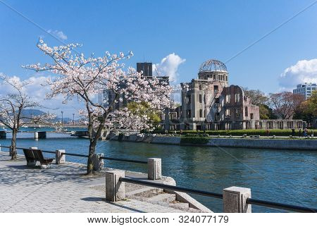 The A-bomb Dome Also Known As The Hiroshima Peace Memorial Is What Remains Of The Former Prefectural
