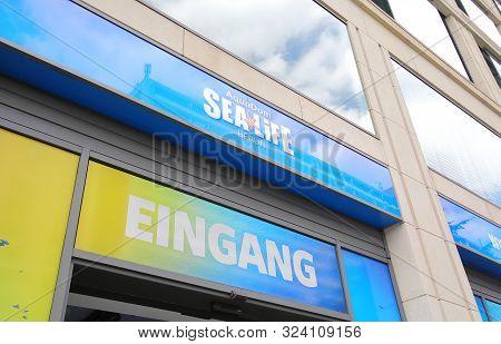 Berlin Germany - June 7, 2019: Sealife Aquarium Berlin Germany
