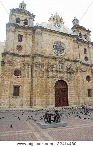 Iglesia San Pedro Claver Cartagena Colombia South America