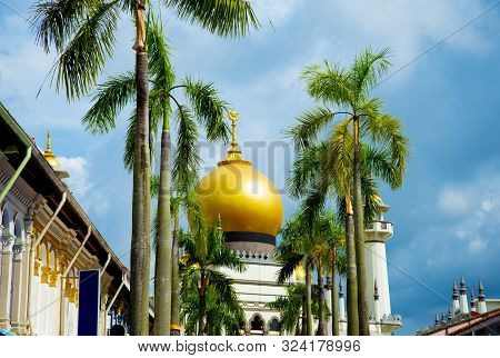 The Historic Sultan Mosque - Singapore City