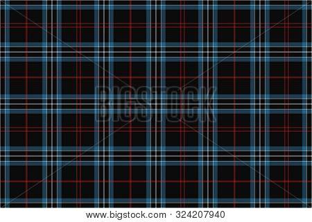University Tartan. Seamless Pattern For Fabric, Kilts, Skirts,
