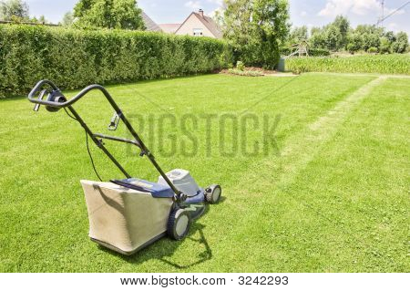 Mowing The Gras