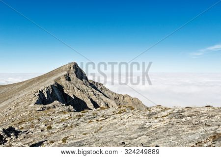 The mount Olympus in central Greece and Scolio