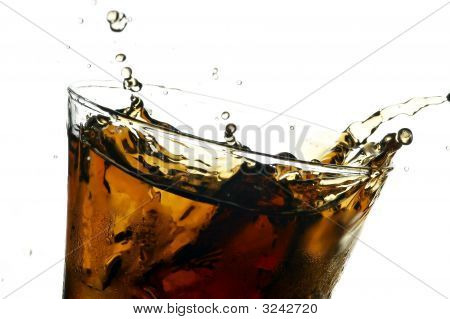 Cola In Glass