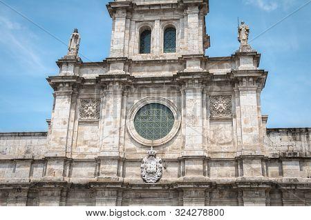 Carmo Church In The Historic City Center Of Braga, Portugal