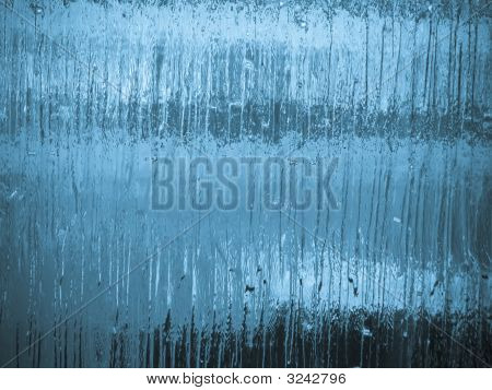 Abstract Frost On Glass Effect