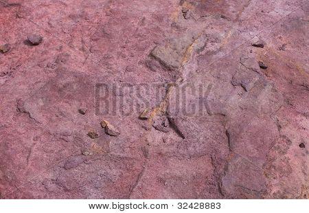Texture Stones In Crater Mizpe Ramon - Negev Desert