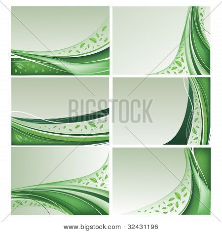 Eco background set