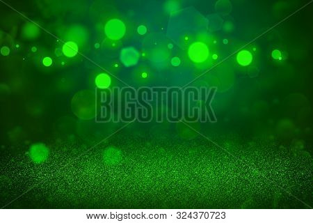 Nice Shining Abstract Background Glitter Lights Defocused Bokeh - Festal Mockup Texture With Blank S