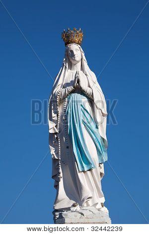 Virgin Of Lourdes