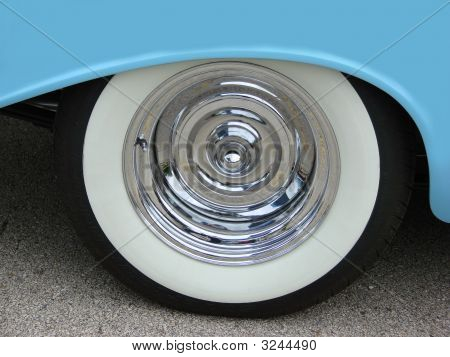 Blue Fender With Wheel